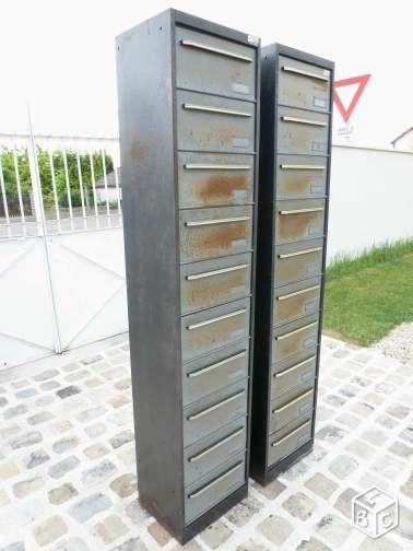 Meuble De Metier Classeur Metallique A 10 Clapets Ameublement Aube Leboncoin Fr Meuble De Metier Ameublement Decoration Industrielle