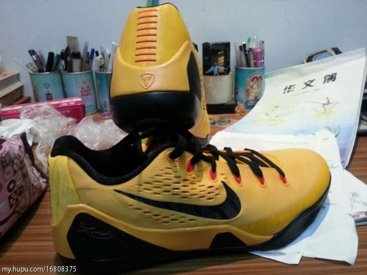Nike Kobe IX Low- Bruce Lee  4761b7a9ab26