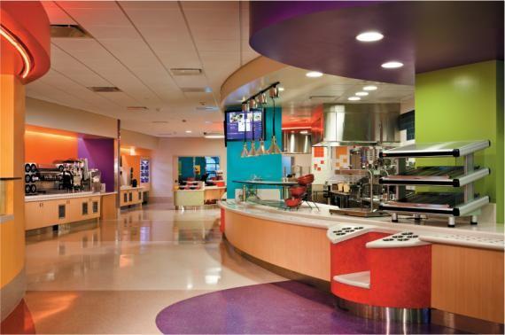 Phoenix children s hospital interior building