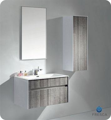 fresca energia white modern bathroom vanity. fvn8508ha   fresca 32 inch wall mount high gloss modern bathroom vanity with mirror and faucet energia white