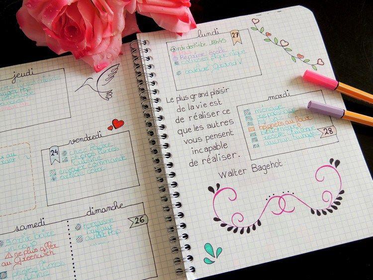 Débuter un Bullet Journal - Comment et pourquoi | Bullet ...