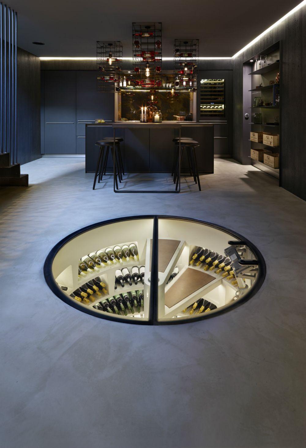 Spiral Wine Cellar Spiral Wine Cellar Wine Cellar Modern Wine