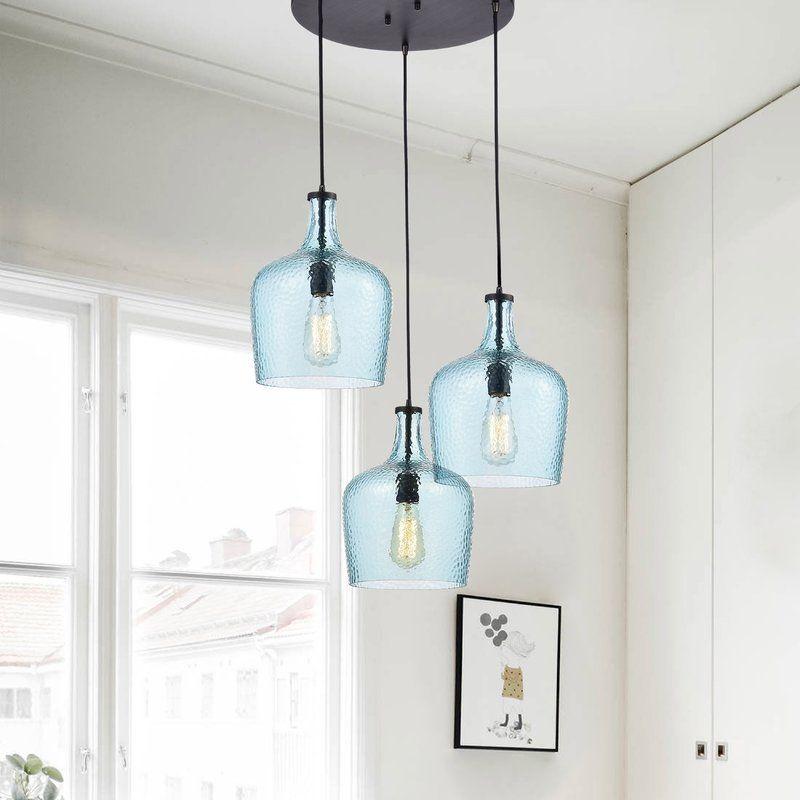 Psyche 3 light cluster pendant farm house lights and modern psyche 3 light cluster pendant mozeypictures Images