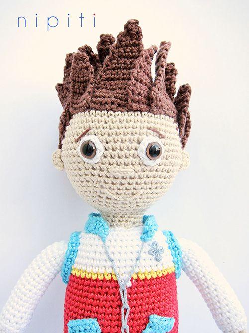 Ryder (Paw patrol) amigurumi crochet pattern by nipiti | Crafts ...