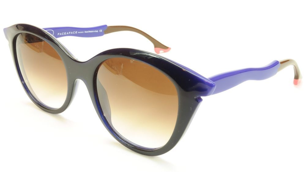 608e88e35f Face A Face Bocca Sixties 3 2146 Sunglasses Ink Majorelle Blue Italy Hand  Made  FACEAFACE  CatEye