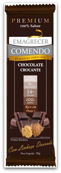 Opção para deixar o dia ainda mais gostoso: Chocolate Crocante com Linhaça Dourada Emagrecer Comendo - Zero açúcar, 54% cacau e crocante por causa da linhaça dourada - http://jeitosaudavel.wordpress.com/2013/01/13/achocolatando-a-vida-parte-2/