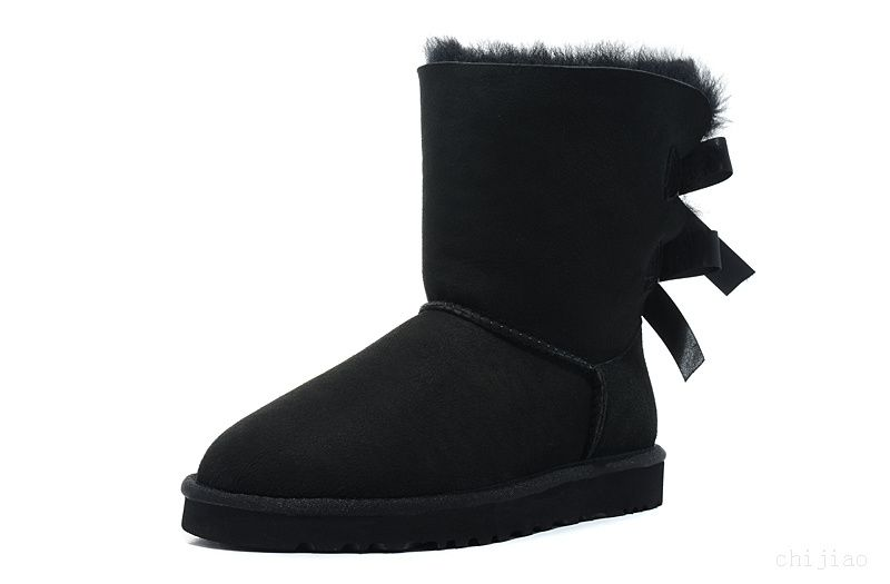 5e9fede55fe Site Officiel Ugg 2954 Bailey Bow Noir | Photo Collage Sporting ...