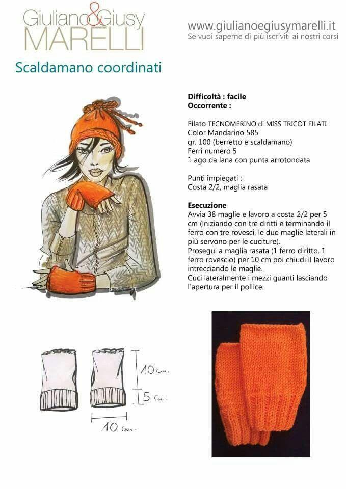 Scaldamani   Marelli Giuliano design   Pinterest   Tejido, Dos ...