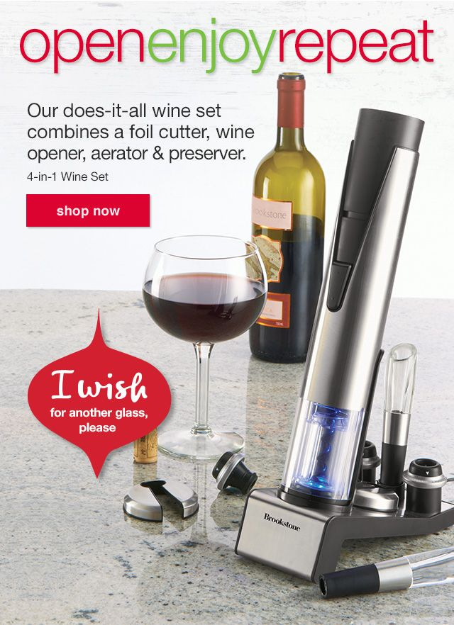 More Than Just Making Wine Easy To Open And Serve The 4 In 1 Wine Set Also Helps Maximize The Flavor Of Your Favorite Bott Wine Set Wine Preserver Wine Making