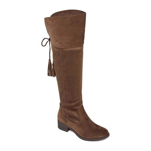 169abd95f2383 Cowboy Boots · FREE SHIPPING AVAILABLE! Buy GC Shoes Thea Womens Over the  Knee Boots at JCPenney.