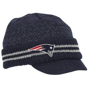 New England Patriots Visor Knit Hat 19 Wanna Get This For My Son