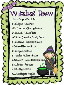 Witches Stew Instant Download
