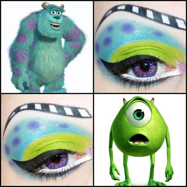 Monsters Inc Haaa Thats Fantastic Disney Makeup Disney Eye