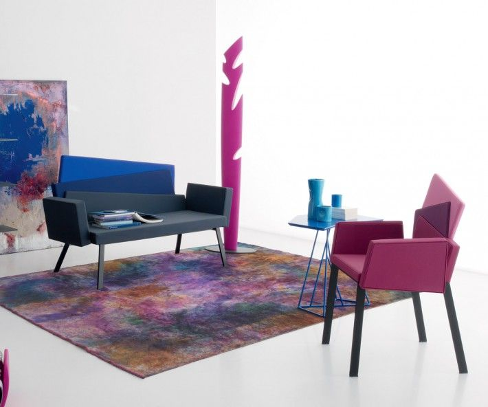 Compar Stuhl Karina Armlehnen Contemporary furniture and Contemporary
