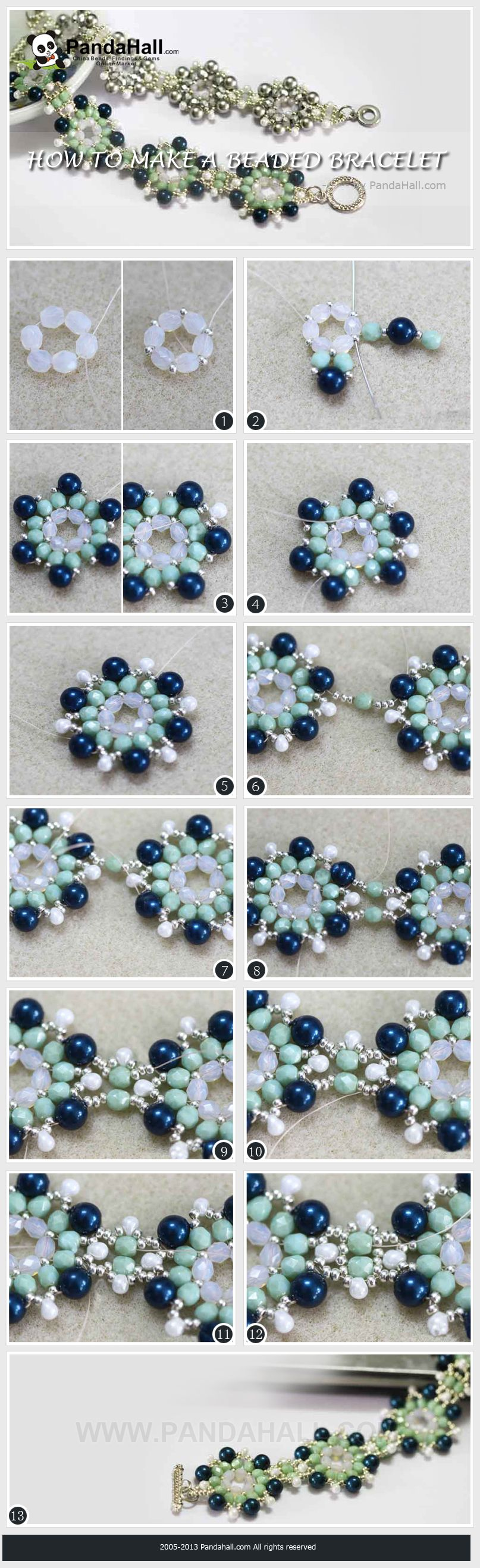 How to keep your old jewelry looking like new bracelets tutorials how to keep your old jewelry looking like new flower braceletdiy solutioingenieria Choice Image