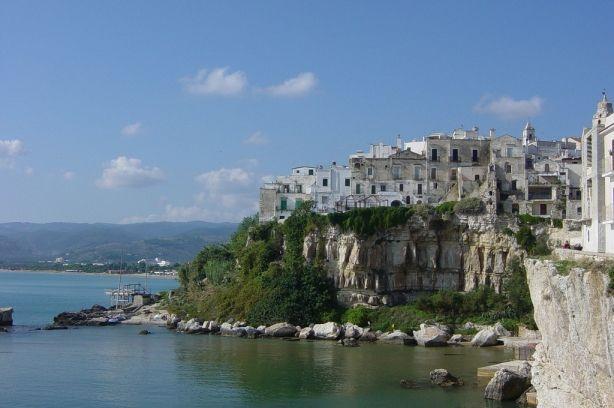 vieste Vacanza sulla costa del Gargano le spiagge