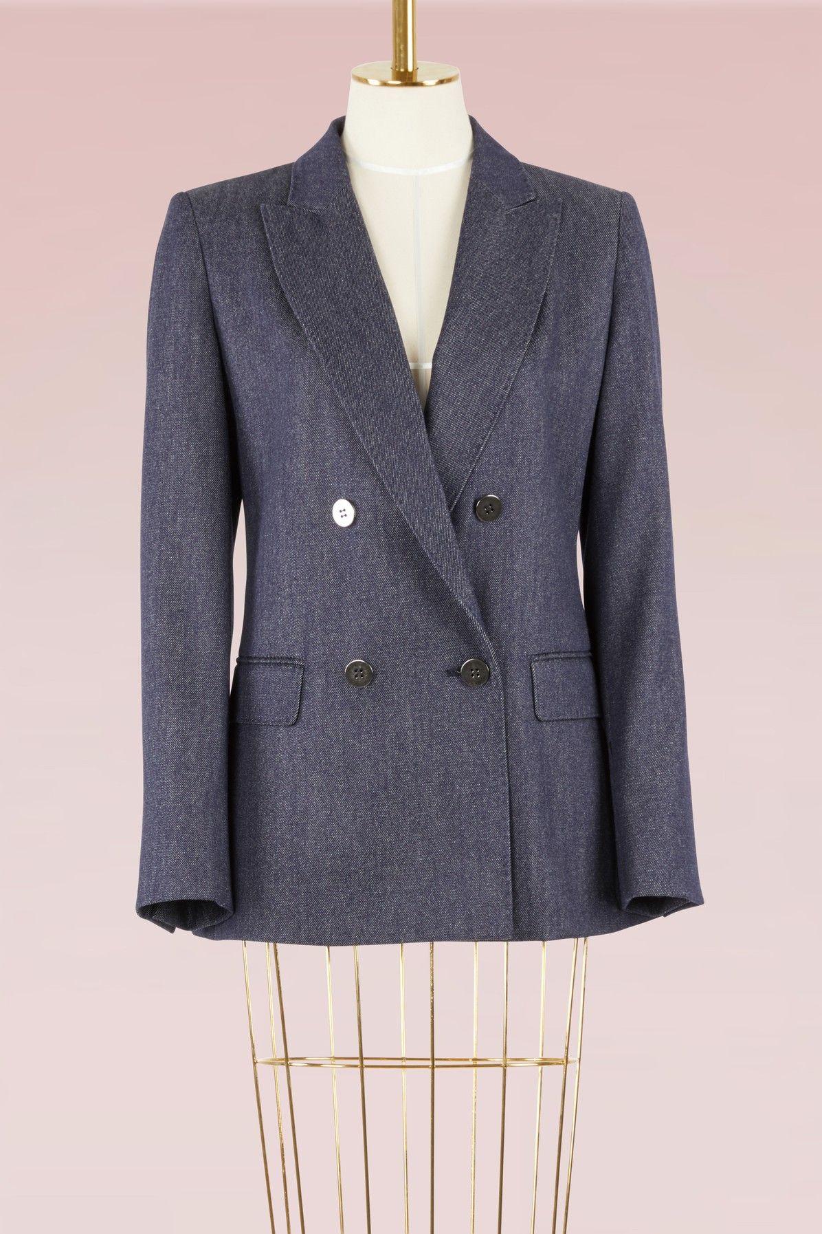 0ee75d854c71 MAX MARA Corone wool blazer. #maxmara #cloth # | Max Mara