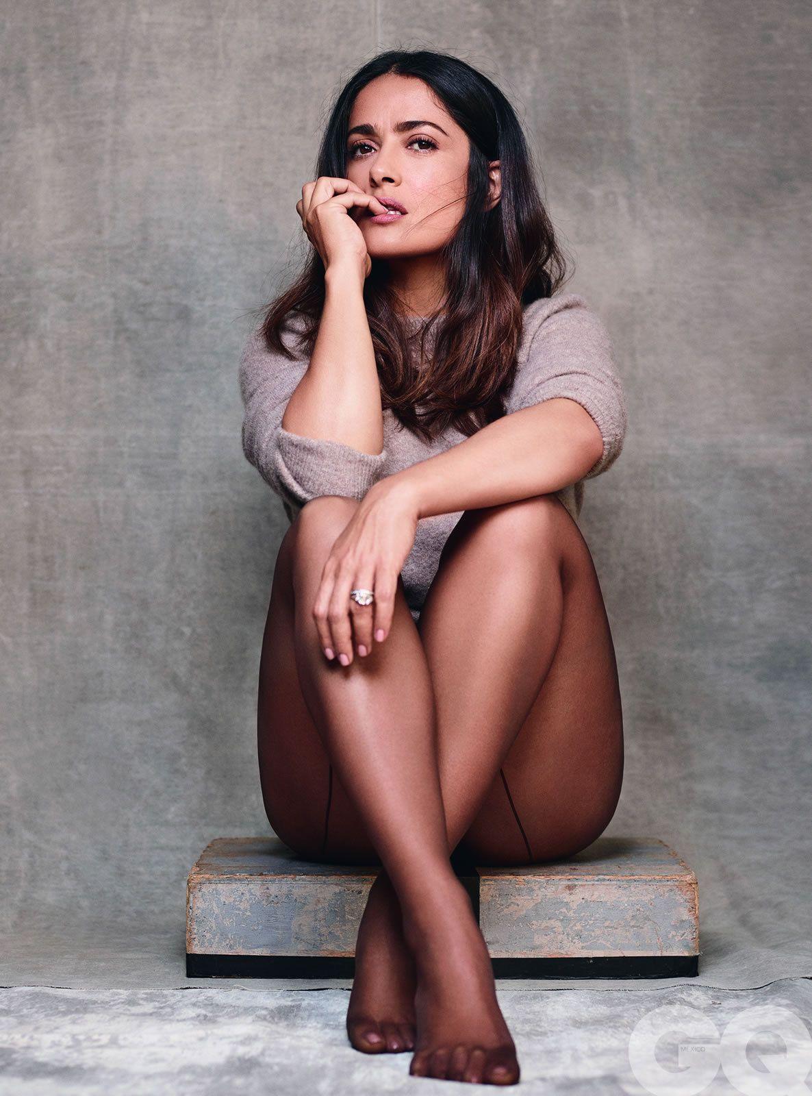 Salma Hayek Para Gq México Gqmx10 Salma Hayek Feet Salma Hayek Salma Hayek Pictures