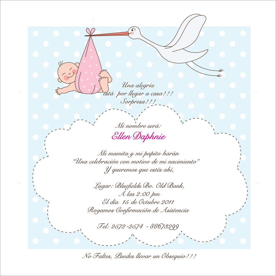 Mensajes De Baby Shower Para Invitaciones Buscar Con