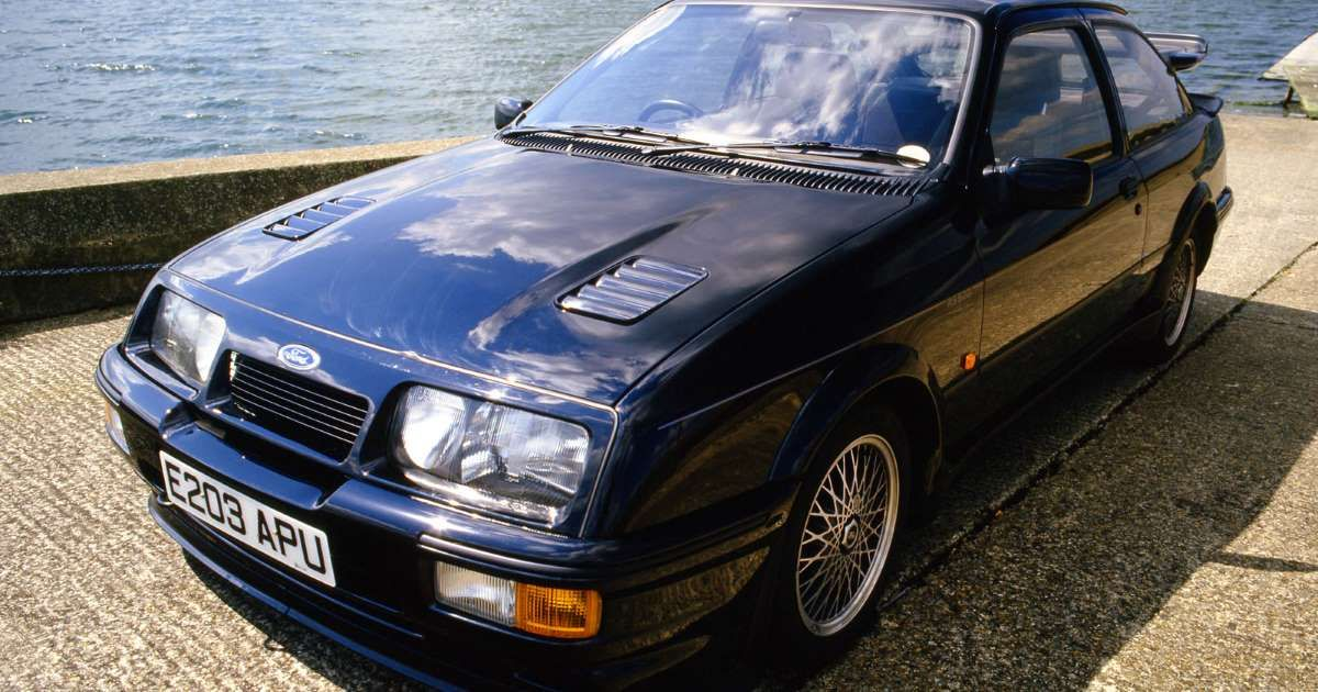 Was This Fast Ford All Mouth And No Trousers Ford Sierra Ford