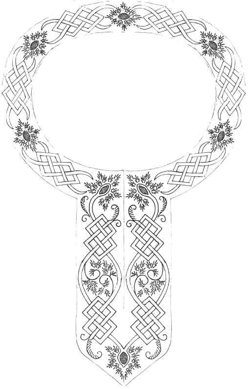 12th century embroidery pattern - /kitskyy/embridery-embellishments ...