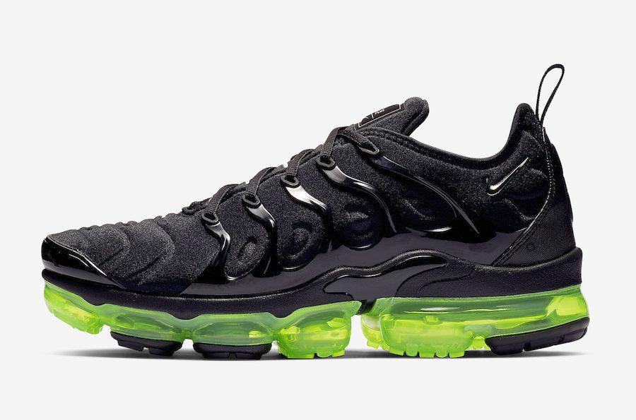 d2b42a131709 Nike Air VaporMax Plus Black Volt 924453-015 Release Date ...