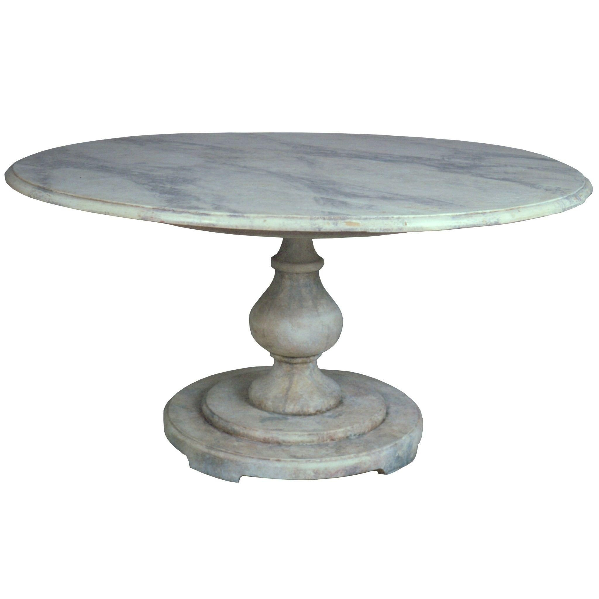 Niermann Weeks Roman Garden Pedestal Table On Chairish