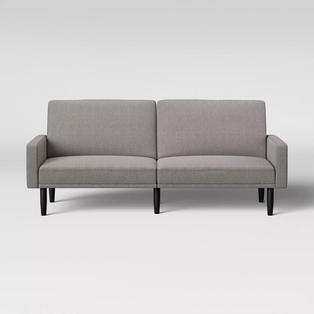 Futon Sofa With Arms Room Essentials Futon Sofa Grey Room Sofa