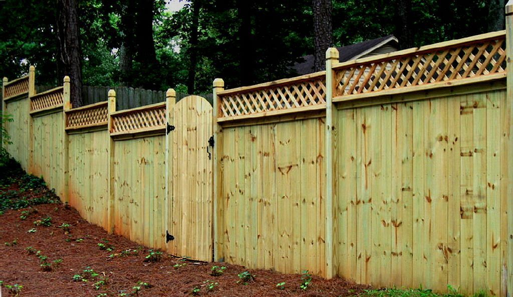 Wooden Privacy Fence Ideas 136 With Images Privacy Fence
