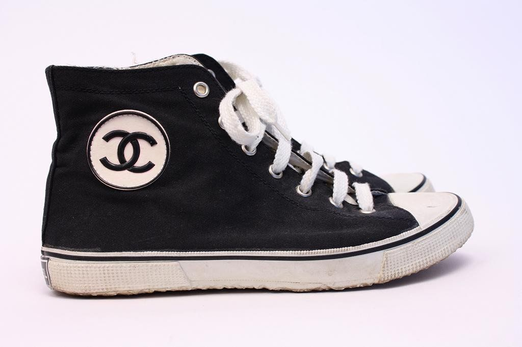 Rare Vintage Chanel Sneakers   Chanel