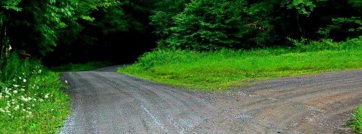 Irish Hill in Rush, Pennsylvania