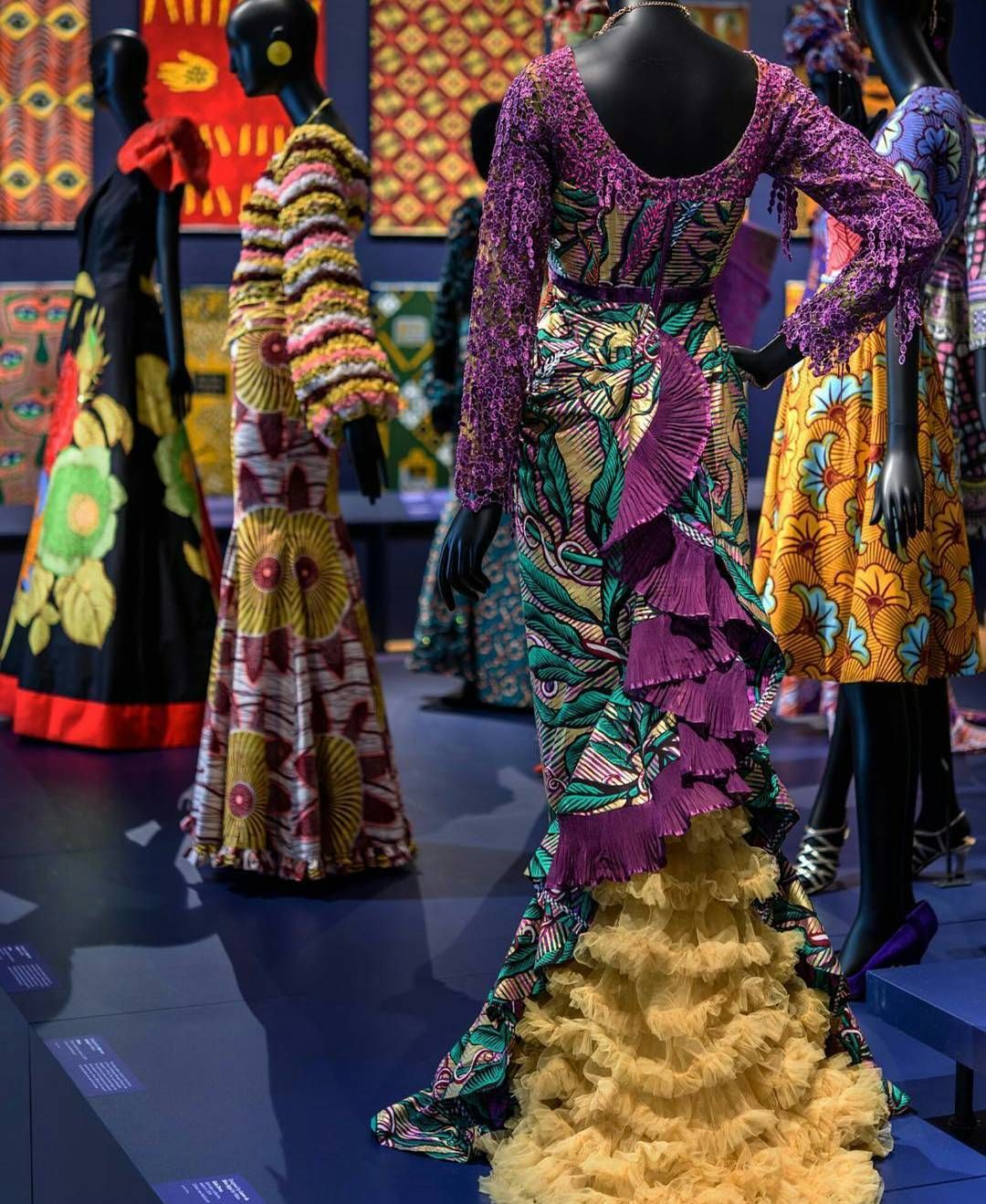 Vlisco: African Fashion on a Global Stage. @philamuseum #vlisco #fashion #style #textile #africanfashion