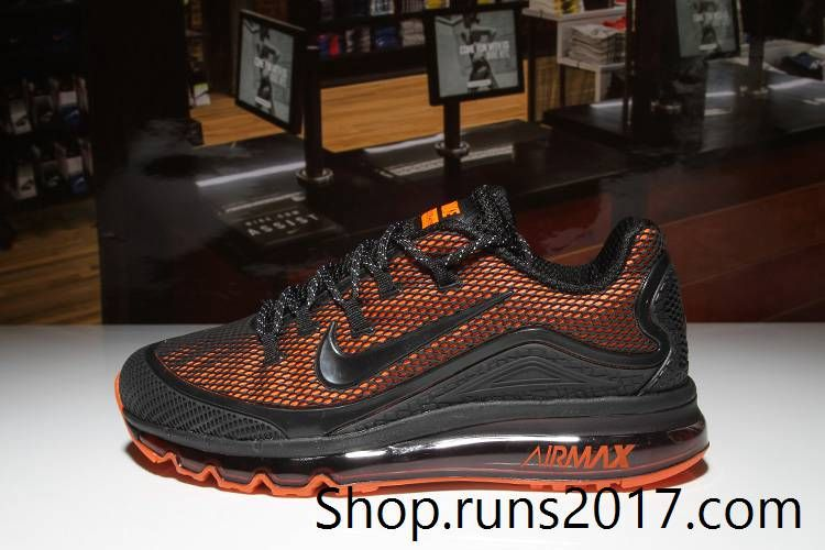 c57e0de10f Nike Air Max 2018 Elite Orange Black KPU Men (40-47) | Nike | Nike ...