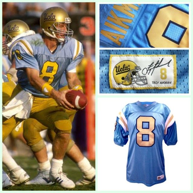 c66e8547 Troy Aikman authentic #Throwback UCLA Football jersey released by Retro  Brand #TroyAikman #UCLABruins #ThrowbackFootballjersey