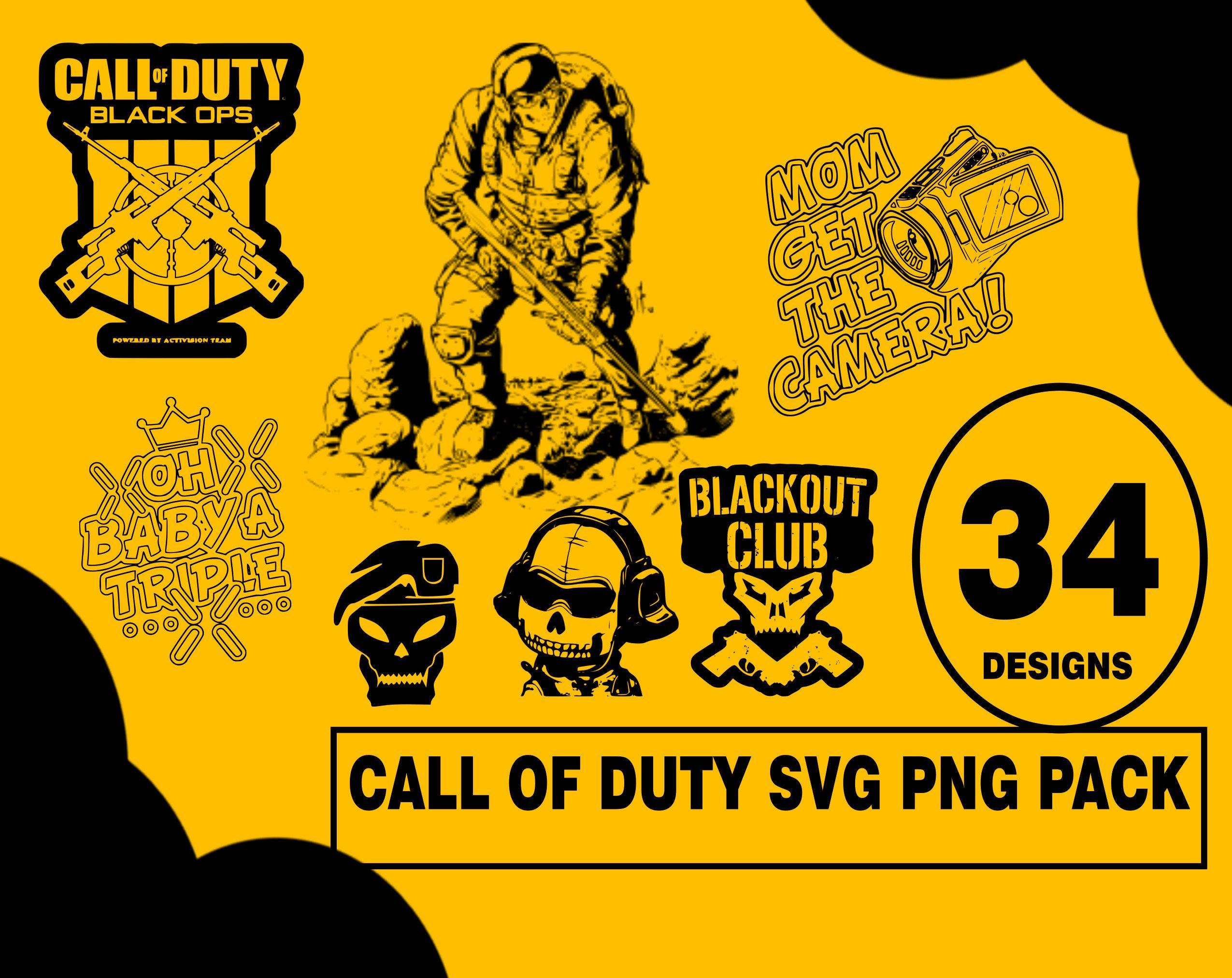 Call Of Duty Svg Png Design Pack Cod Svg Png Vectors Cod T Shirt