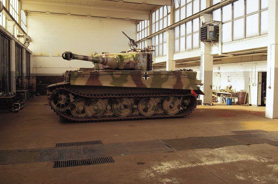 PzKpfw VI Tiger in Munster
