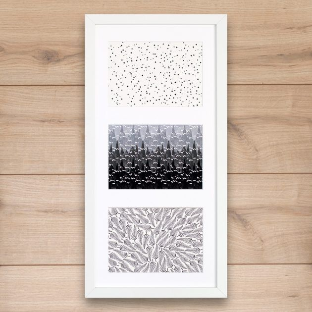 Art print trio: stamped by Windward Made