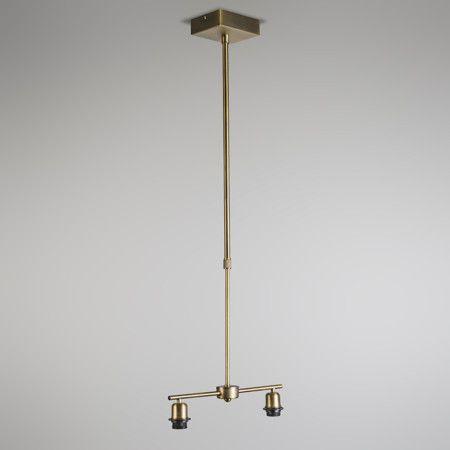 Lámpara colgante MIX 2 bronce
