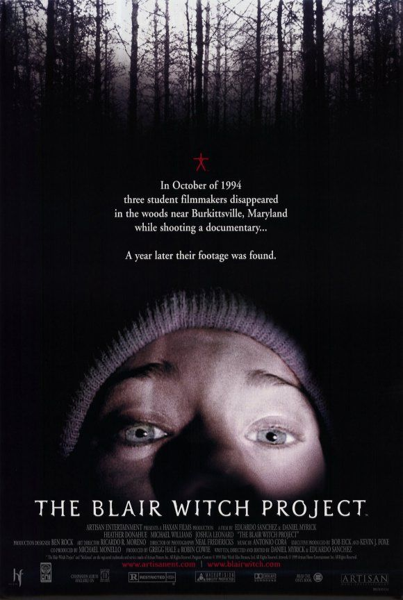 Image result for blair witch project movie cover
