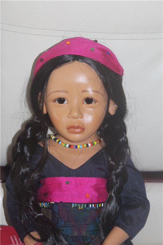 c1f7c0b2c7e190 Очень редкая Sri от Dwi Saptono для Gotz   Коллекционные куклы (винил)    Шопик