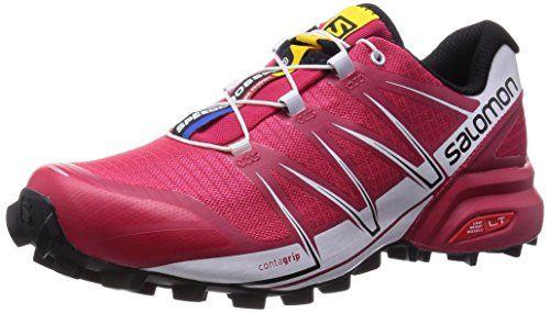 Salomon Speedcross 3 Damen Traillaufschuhe, Pink (Lotus Pink