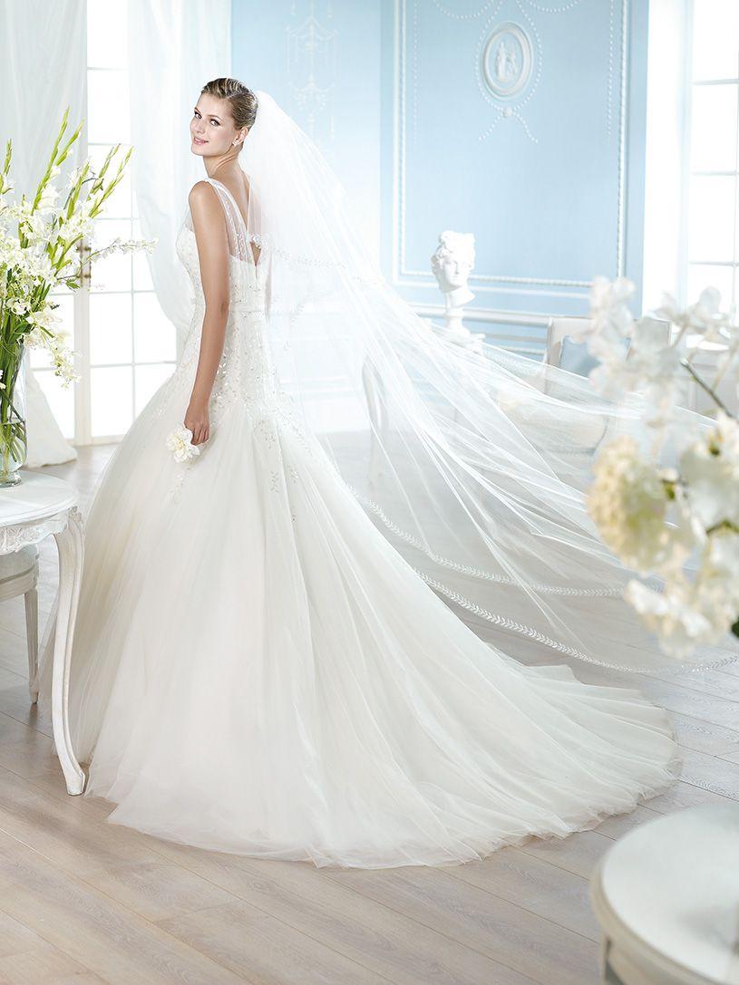 Vestido de novia, modelo Hanan de St. Patrick 2014  www.sanpatrickgranada.es