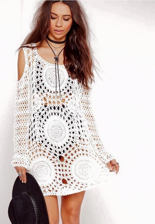 Blusa Crochet Nude | Crochet, Crochet clothes and Crochet summer