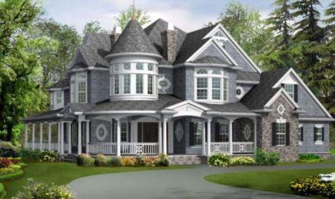Fachadas De Casas Victorian House Plans Victorian House Colors Victorian Style House