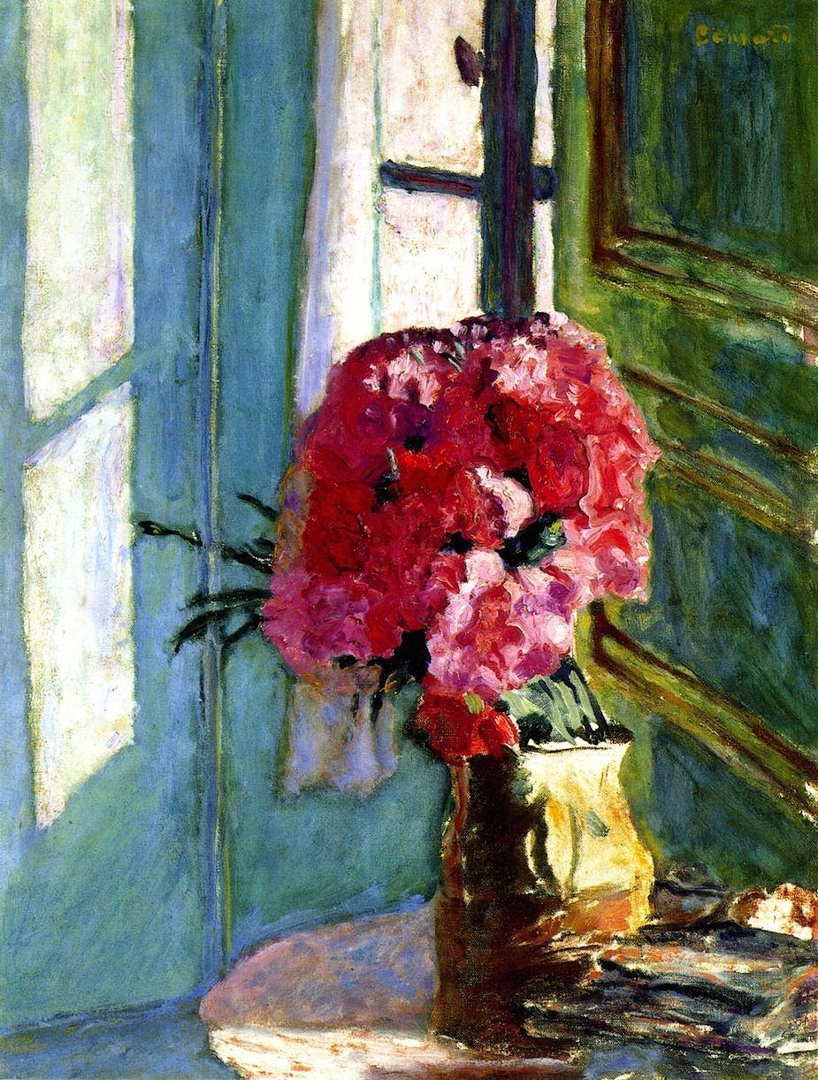 Carnations / Pierre Bonnard - circa 1921