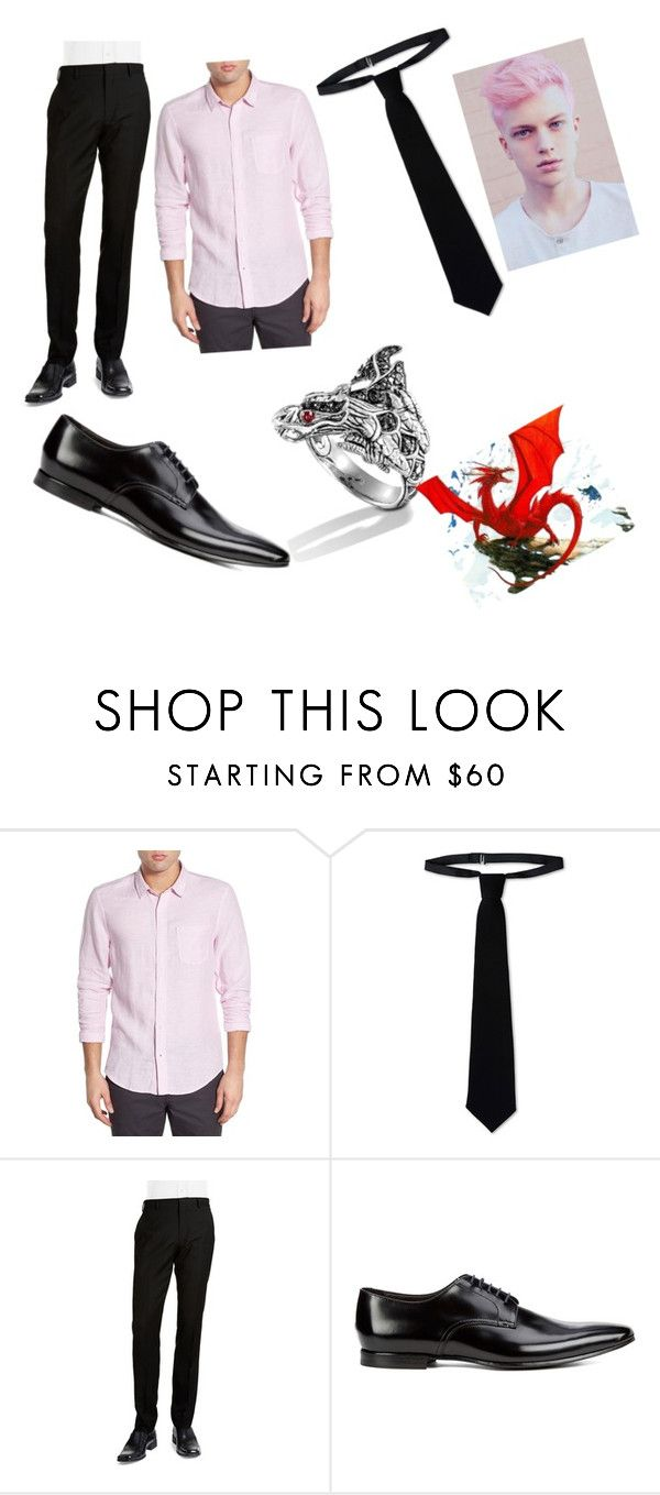 """""""Igneel"""" by kiki-lucky1 ❤ liked on Polyvore featuring 1901, RED Valentino, BLACK BROWN 1826, Paul Smith, John Hardy, mens, men, men's wear, mens wear and male"""