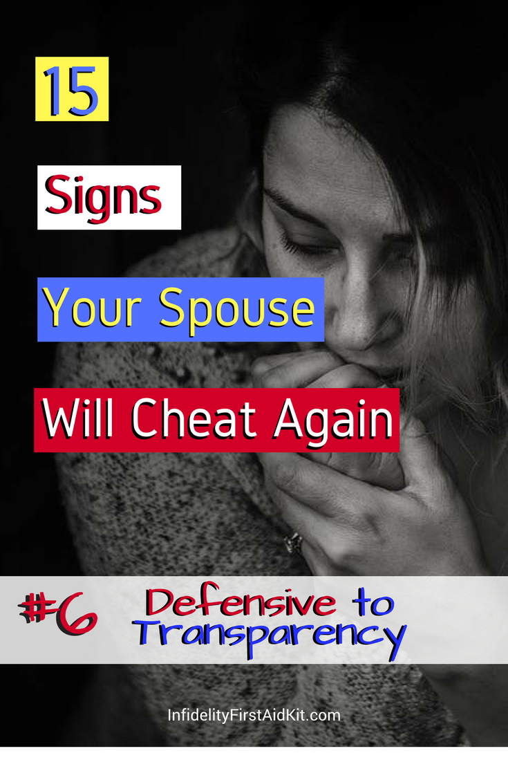 Cheat or Change? Will My Spouse Cheat Again? - Infidelity