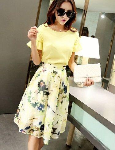 Isabella Floral Skirt
