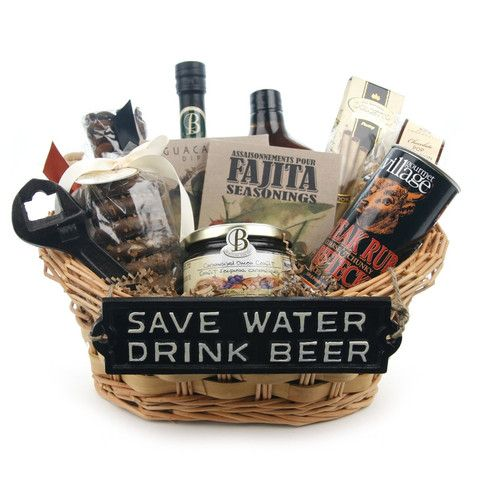 Man cave gift basket | Fundraising Basket Ideas | Pinterest | Gift ...