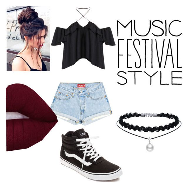 """""""Music Festival Style"""" by ellaboo0473-1 ❤ liked on Polyvore featuring Vans"""
